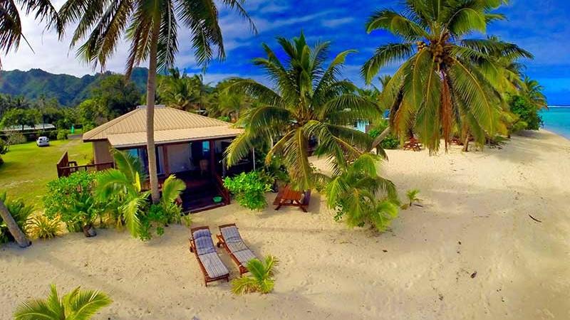 Iro's Beach House aerial