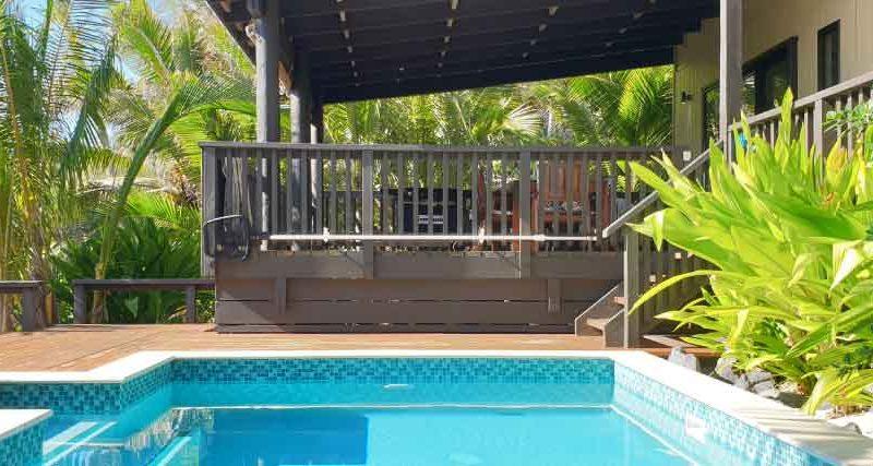 beachfront holiday house rarotonga