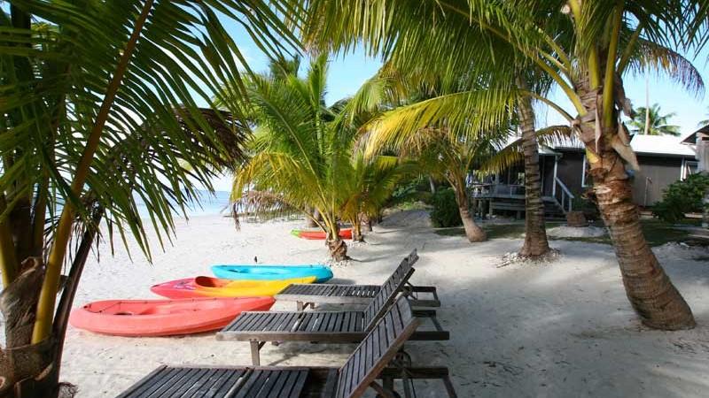 Aretai Beach Villas Aitutaki Western