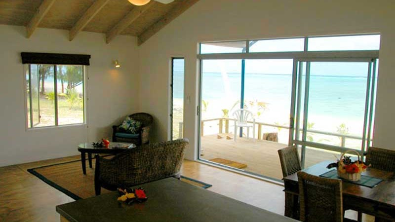 Aretai Living view to Balcony