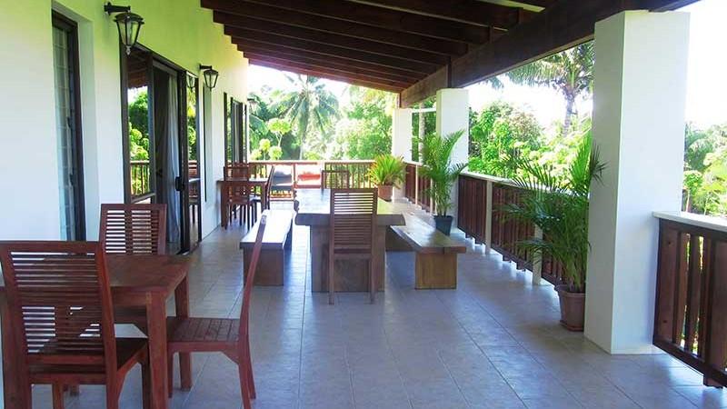 Matahere veranda