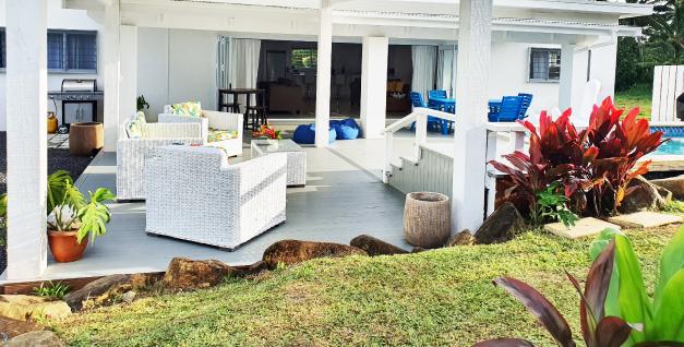 private house for hire rarotonga