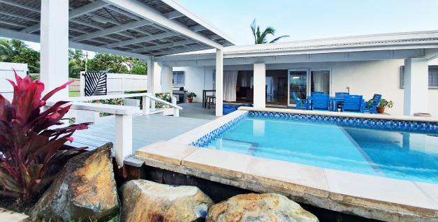 family holiday villa rarotonga with pool