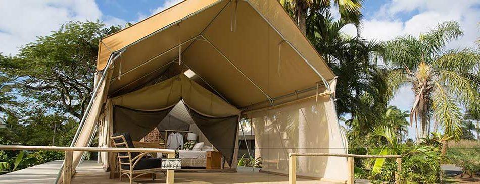 Ikurangi Eco Retreat u2013 Luxury Safari Tents & Ikurangi Eco Retreat - Luxury Safari Tents - Rarotonga Accommodation