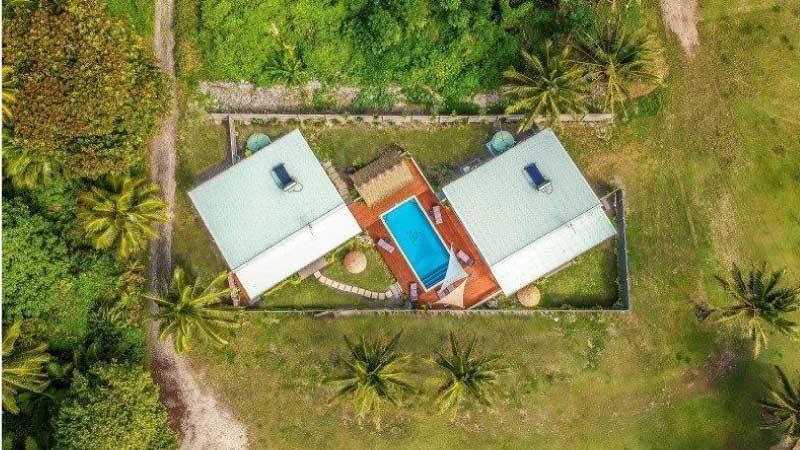 rarotonga house with pool