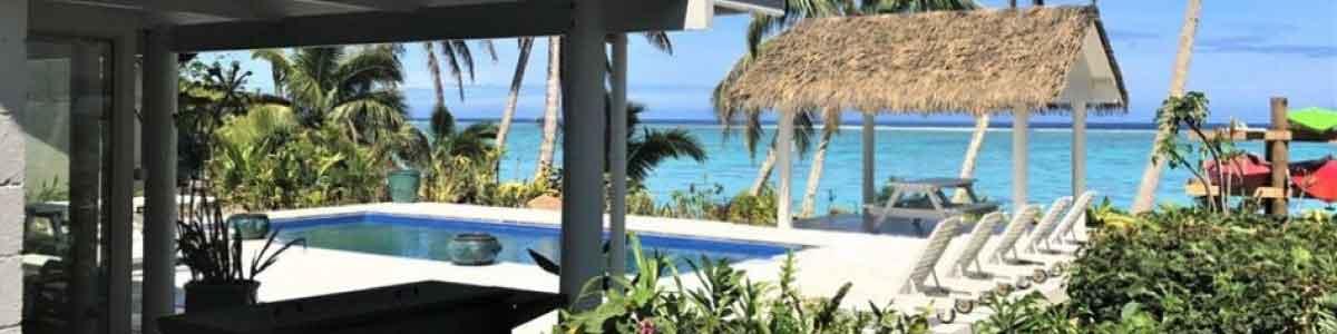 beach villa rarotonga