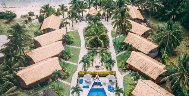 accommodation with beach and pool rarotonga