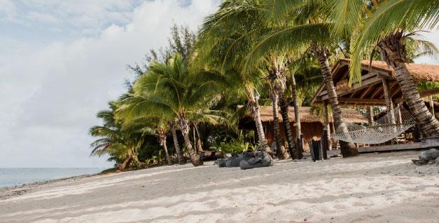 beachfront accommodation rarotonga